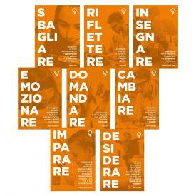 Set 8 poster decorativi sull'apprendimento 70x100 cm su forex 5 mm