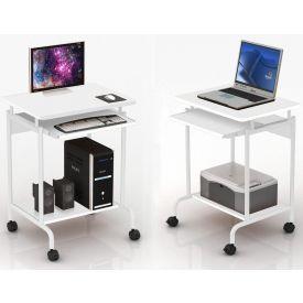 """Scrivania per computer """"Compact"""" - Bianco"""