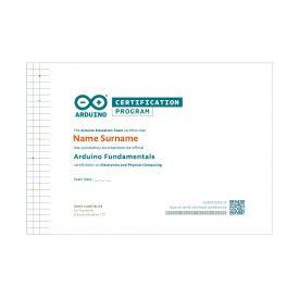 Arduino Fundamentals - Voucher per esame di certificazione