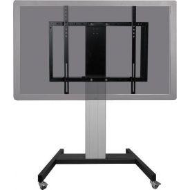 """Carrello regolabile elettricamente per monitor touch da 42"""" a 100"""" (base V)"""