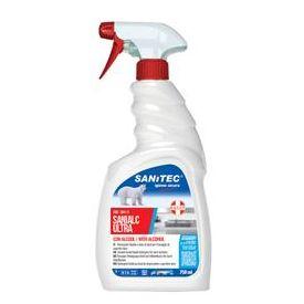 SANIALC Ultra 750ml detergente alcolico per superfici e tessuti