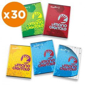 Quaderno Umano Digitale - Confezione 30 pezzi