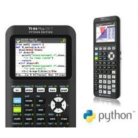 TI-84 Plus CE-T Phyton Edition - Calcolatrice Grafica Texas Instruments
