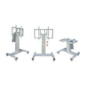 """Carrello tavolo regolabile elettricamente Tilt Stand per monitor touch da 42"""" a 90"""""""