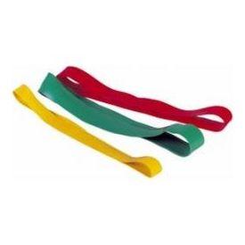 Confezioni 10 pz elastico ad anello colore rosso, medio