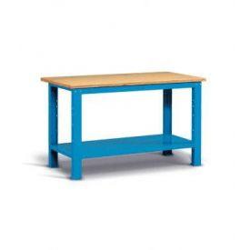 Banco da lavoro per MakerSpace 150x75x88h cm - BLU (smontato)