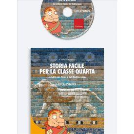 Storia facile per la classe quarta con la LIM (KIT: Libro + CD-ROM) -