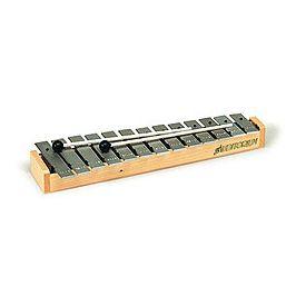 Glockenspiel diatonico soprano 13+3 note