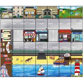 Percorso per Bee-Bot e Blue-Bot: città di mare