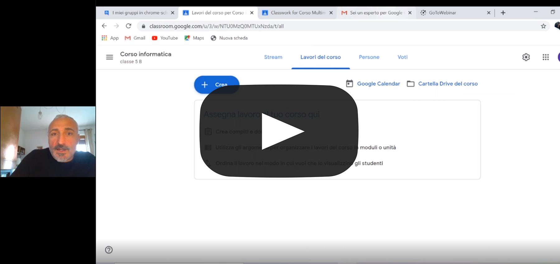 Didattica a distanza con Google Classroom